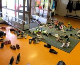 (10.11.2011) Pienen koululaisen kadonneet kengät on mahdollista korvata