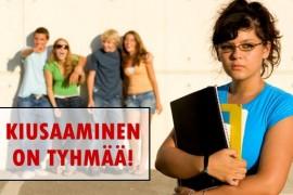 (17.8.2012) Kuinka selitämme lapsillemme mitä koulukiusaaminen on?