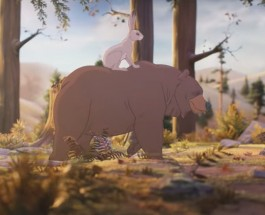 (11.11.2013) John Lewis Christmas Advert 2013 – The Bear & The Hare