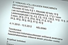 (10.2.2015) Karu syyte kertoo miten Vilja Eerikan hätää ei huomattu